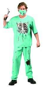 Scary ER Doctor Adult Costume Size Standard