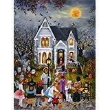 Scary Night 1000 pc Halloween Jigsaw Puzzle by