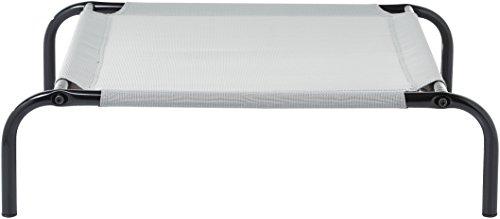 31qEi vNn%2BL Amazon Basics – Erhöhtes Haustierbett mit kühlender Wirkung, Gr. M, 110 x 65 x 19 cm, Grün
