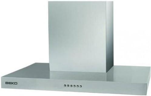 Beko CWB 9550 X Isla Acero inoxidable - Campana (Recirculación, 56 dB, 36 dB, 45 dB, 53 dB, 56 dB): Amazon.es: Hogar