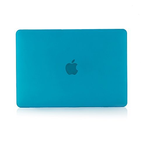 RUBAN Case Only Compatible with MacBook 12 Inch A1534 - Slim Snap On Hard Shell Protective Cover, Light Blue