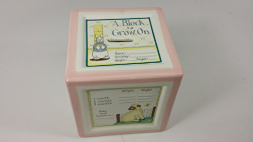 Child To Cherish A Block To Grow On Pink Coin Piggy (Toys To Grow On)