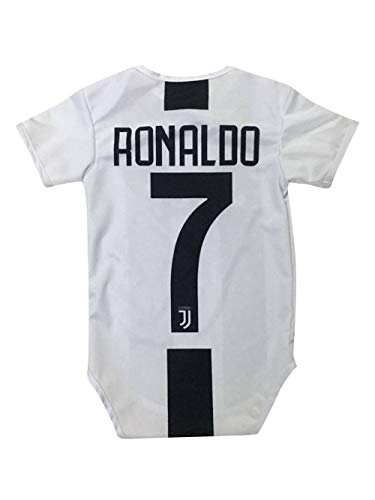 794b30f72 Kitbag Cristiano Ronaldo Juventus #7 Soccer Jersey Baby Romper Infant  Toddler Onesie Premium Quality