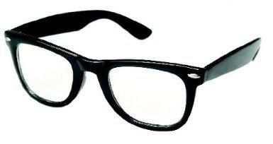 Trendige Nerd Brille Ohne Stärke in Schwarz - Das Fashionaccessoire der Saison