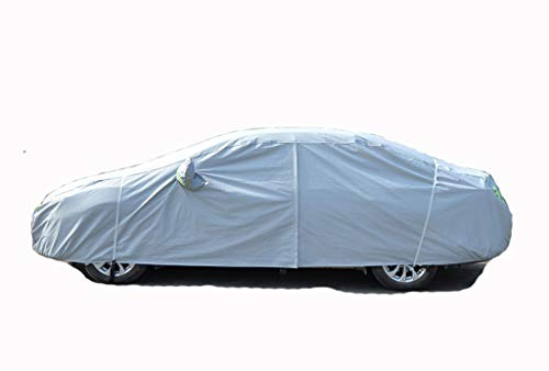 Car Cover Suitable for Toyota Highlander Car Cover Car Cover Special Rainproof Sunscreen Highlander Suv7 Seat Car Clothing (Color : Silver, Size : 2016Highlander)