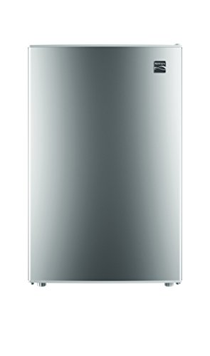 Kenmore 99053 Compact Mini Refrigerator, 4.5 cu. ft. in Silv