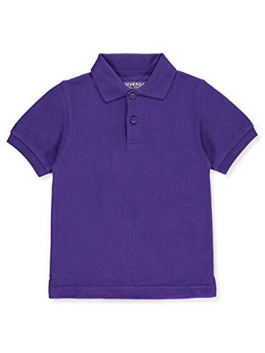 Universal Unisex S/S Pique Polo - Purple, 4t