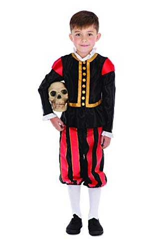Shakespeare Costumes For Kids - Boys William Shakespeare Costume Size