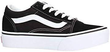 Vans Old Skool Platform, Kids' Shoes, Black (Black/True White 6Bt ...