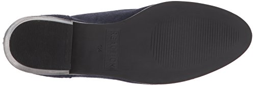 Kenneth Cole Womens Loop Loop È Piatta Tacca In Pelle Scamosciata Bootie Blu Scuro