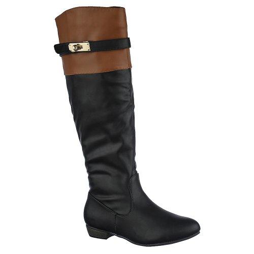 Bambu Kvinna Dita-03 Boot Black