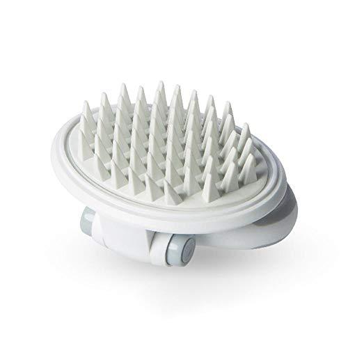 Comb Elec (elec tech Dog Bath Brush Silicone Massage Brush Pet Dog Grooming Brush for Massage and Shedding Shampoo Brush for Long & Short Hair Medium Large Pets Dogs Cats)