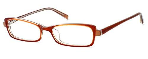 Jones New York Womens Lightweight & Comfortable Designer Reading Glasses J725 in Sienna - York Glasses New Jones