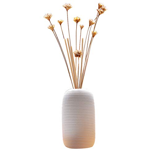 Golike Reed Oil Diffuser with Natural Stick, Glass Bottle and Sesame Oil 50 Ml Fire-Free Aromatherapy Set Furniture
