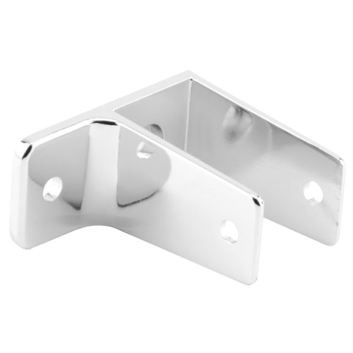 Sentry Supply 650-6383 1 Ear Wall Bracket, 1-Inch, (Chrome Wall Bracket Finish)