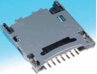 Hirose (hrs) dm3cs-sf Conector, memoria, Micro SD, con bisagras ...