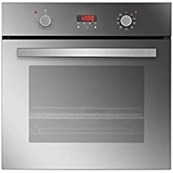 Empava KQB65C-17-220V Tempered Glass Electric Push Buttons Control with Digital Display Built-In Single Wall Oven