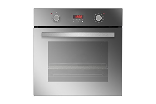 Empava 24″ Tempered Glass Electric Push Buttons Control with Digital Display Built-In Single Wall Oven EMPV-24WOB17