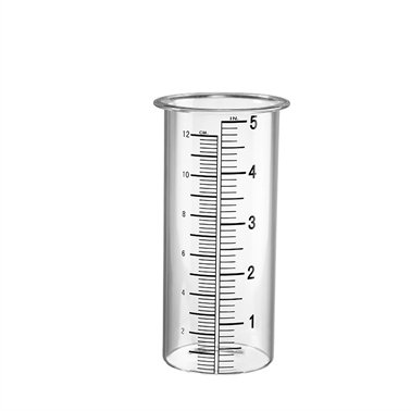 SPI Home- San Pacific Intl 34155 Rain Gauge Glass Wide