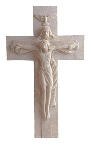 Jesus Cross Atrio with God Holy Religious Crucifixion Wall Decoration