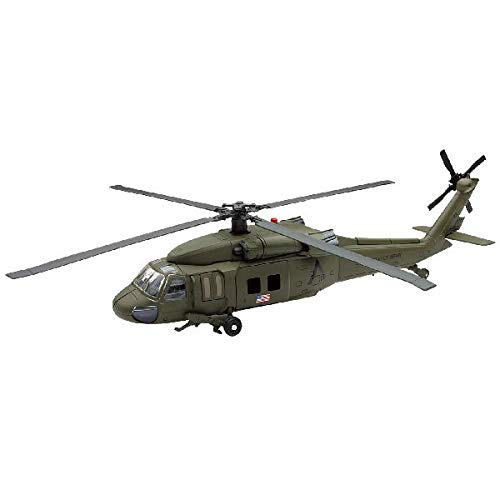 New Ray Sky Pilot UH-60 Black Hawk Diecast Helicopter Replica 1:60 Scale -