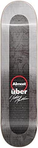 Almost Mullen Uber Fade Skateboard Deck - Rodney Mullen - 8.25&