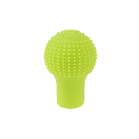 Generic Anti-scratch Bump Shift Knob Protective Cover Case - Green