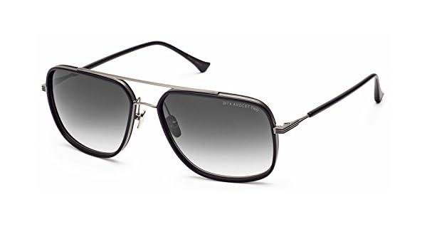311260ed2f32 Amazon.com  Dita Avocet-two Black silver 58mm  Clothing