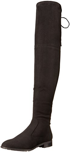 Marc Fisher Damen Olympia Overknee Boot Schwarz