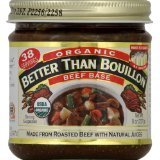 Better Than Bouillon Organic Beef Base, 8-ounce (Pack of 3) by Superior Touch