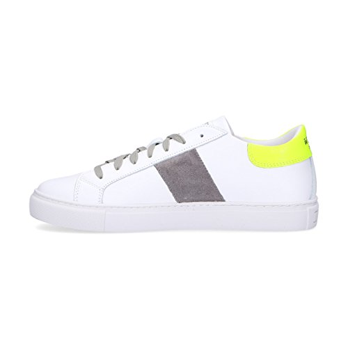 Womsh Sneakers Uomo K180657 Pelle Bianco