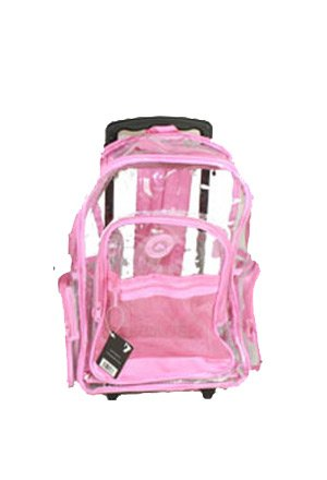 Pink Rolling Backpacks Click Backpacks