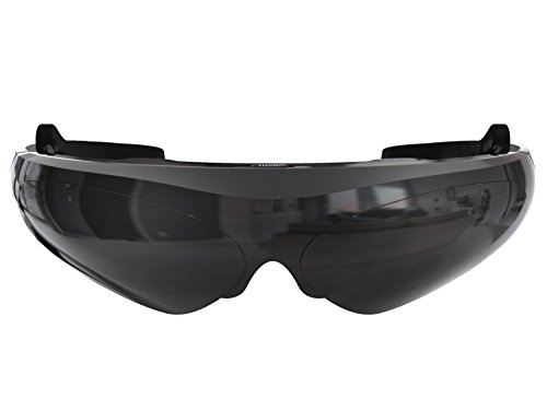 TechComm Saturn 2D/3D Video Glasses with HiFi Earphones and Noise Reduction