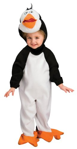 The Penguins Of Madagascar Romper And Headpiece Rico, Rico, 1-2 Years