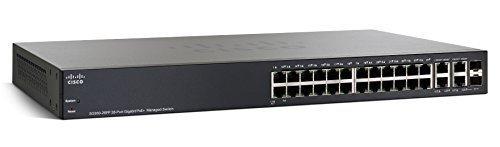Cisco SG300-28PP-K9-NA 28-Port Gigabit PoE+ Managed Switch