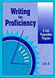 Writing for Proficiency, Pearson Education, 0835908925