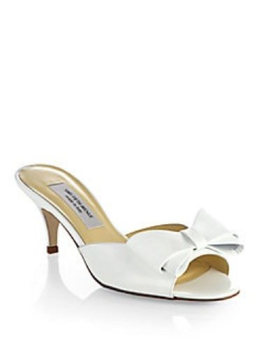 saks-fifth-avenue-bow-patent-leather-slide-heel-size-6