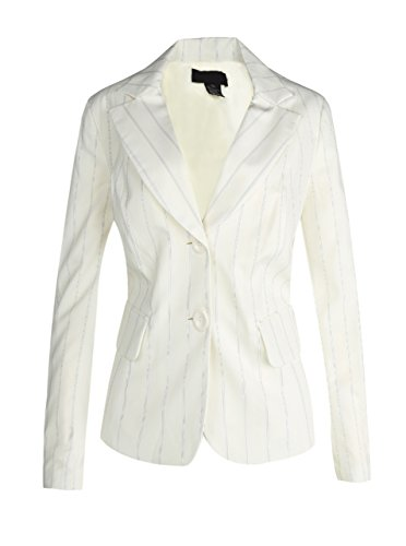 Womens Fitted Career Blazer Jacket product image