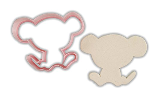 - Monkey Animal Cookie Cutter - LARGE - 4 Inches