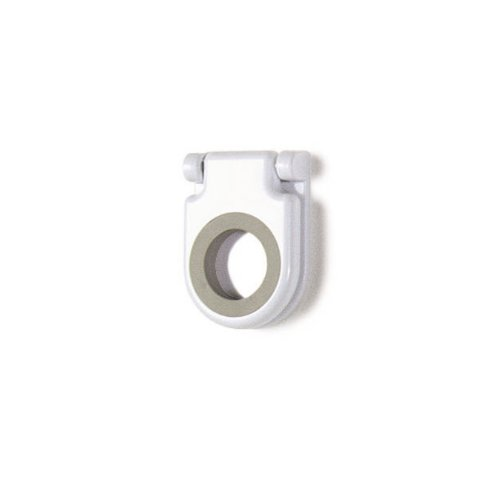 Spectrum Diversified Mop and Broom Holder, White
