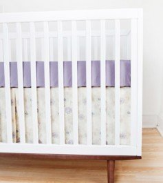 Finn + Emma Flower Crib Set without Bumpers-Girl by Finn + Emma