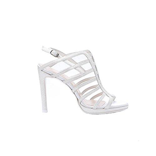 Piel Silk de Marfil Nicole de Para Sintética Vestir Zapatos Avorio Mujer P4zRzwqI