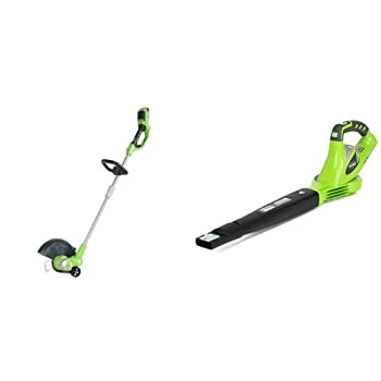 Greenworks G-MAX 40V Cordless String Trimmer and Blower