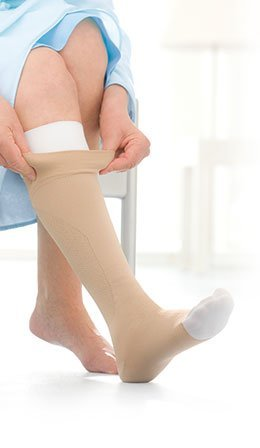 UlcerCARE Therapeutic Stockings-Left Side -