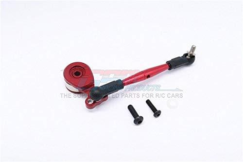 Part & Accessories Aluminium Hi-torque Servo Saver 25T With Aluminium Tie Rod - 1set For CC01 - (Color: Red) ()