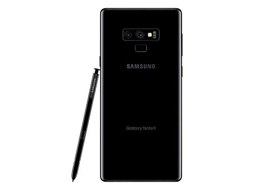 Samsung Galaxy Note 9 N960U 128GB T-Mobile GSM Unlocked (Midnight Black)