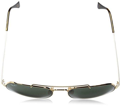 Montures Unique Ban Taille Lunettes de Gold Or Adulte Ray Sun Mixte xvFEnqgzzw