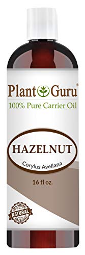Hazelnut Oil 16 oz. Cold Pressed 100% Pure Natural Carrier - Skin, Body And Face. Great For Moisturizing & More!