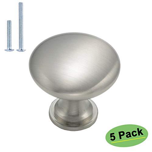 nickel round knob - 7