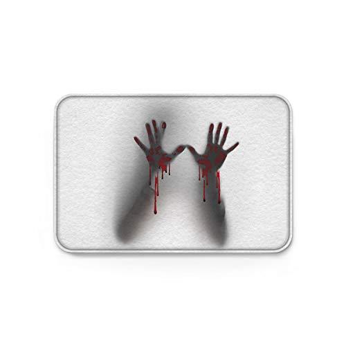 YEHO Art Gallery Custom Welcome Doormat with Non-Slip